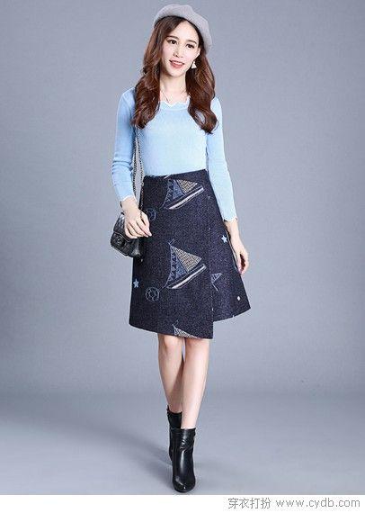 冬天照样穿裙子,温暖且不输颜值